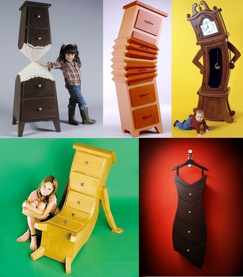Crazy furniture: Kids Furniture, Funky Furniture, Furniture Gameroom, Bedrooms Furniture, Furniture Ideas, Mobiles Furniture, Bold Colors, Wild Furniture, Crazy Furniture