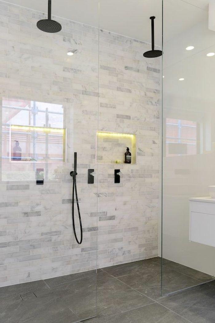 ▷ 1001 + Idées pour une salle de bain avec verrière + ...