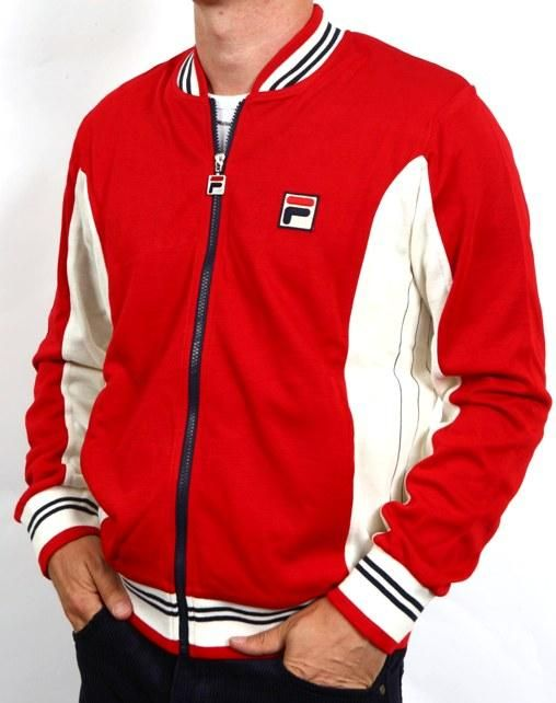 cheap fila tracksuit tops