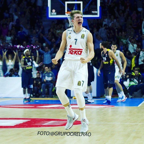 Luka Doncic Real Madrid basket