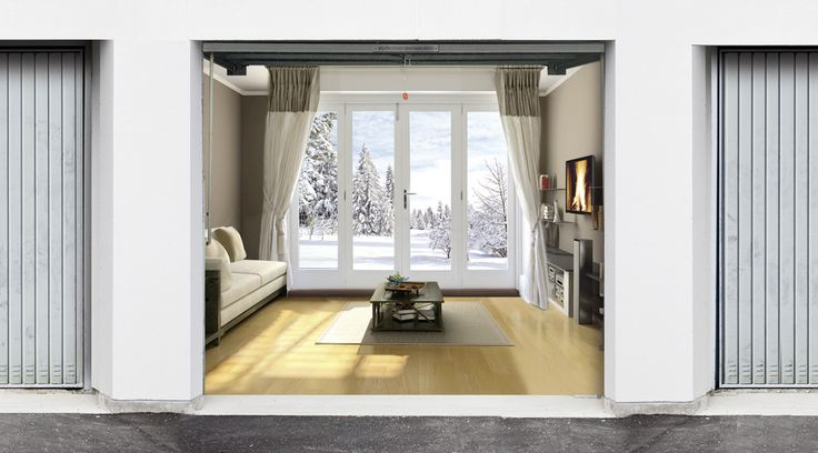 Awesome Interior Garage Door Covers