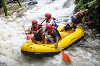 Outbound   Gathering   Team Building   Rafting   Offroad: SERUNYA BERARUNG JERAM DI KALI BARU - BOGOR