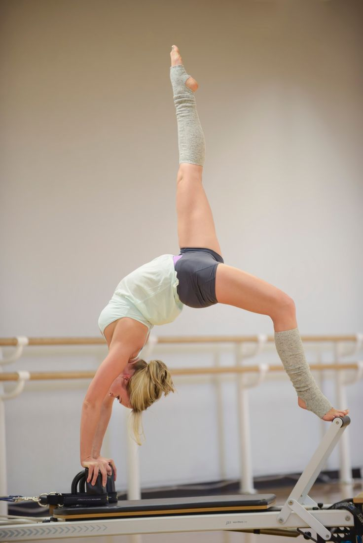 Someday I want to be strong enough to be able to do this. Until then, I'll just keep working at it.