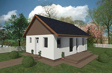 Alfa 60 energiatakarékos könnyűszerkezetes ház, gyorsház