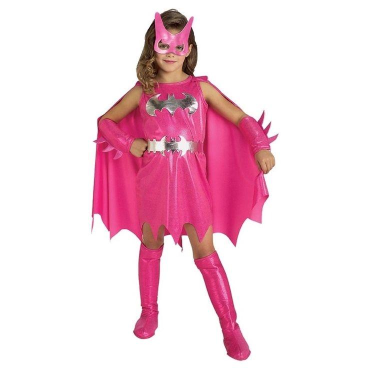 Rosa Batgirl kostyme til barn | Festmagasinet Standard