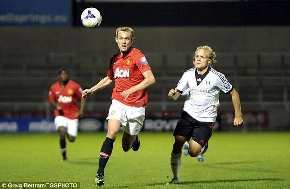 PICTURE: Darren Fletcher returns to Manchester United - http://redmancunian.com/2013/10/28/picture-darren-fletcher-makes-long-awaited-return-man-united/