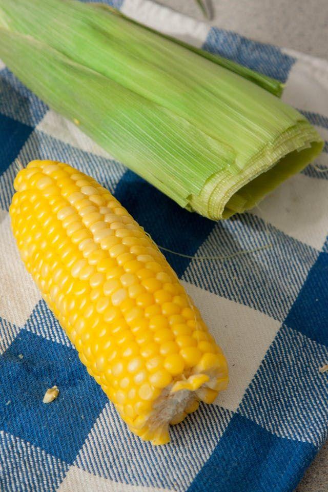 Easily Remove Corn Husk