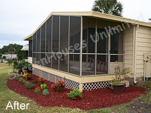 High Quality A Screen Porch Kit Is A Great Way To Make A Porch Enclosure