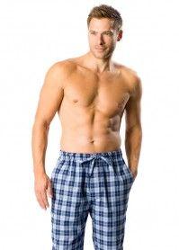 PJ Pan's lightly brushed 'Sandman' pyjama trousers
