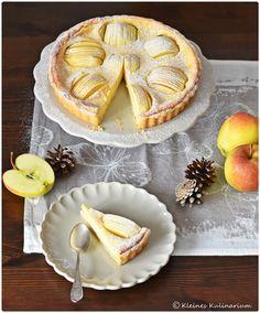 Tarte aux pommes et à la crème fraîche - oder schlicht Apfeltarte mit lecker Guss