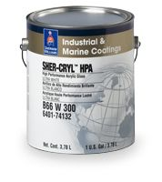 BEST Paint for Exterior of Camper ------> Sher-Cryl High Performance Acrylic