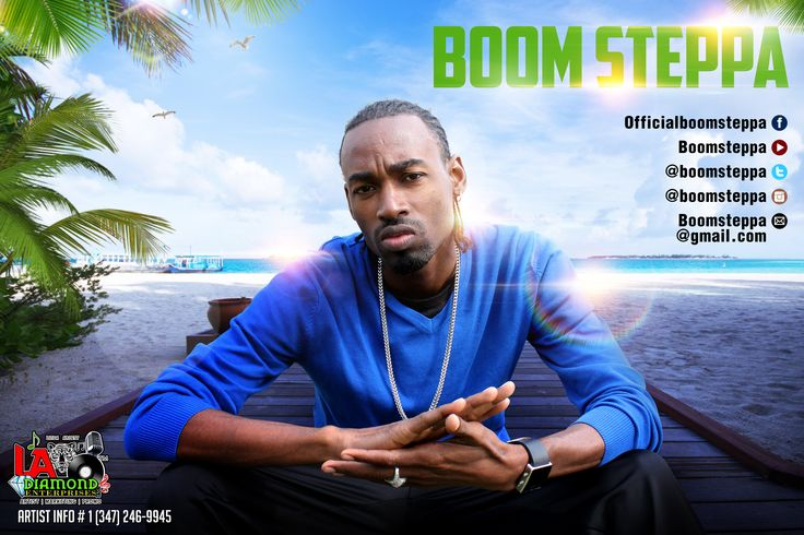 Boom Steppa Promo Design 2015