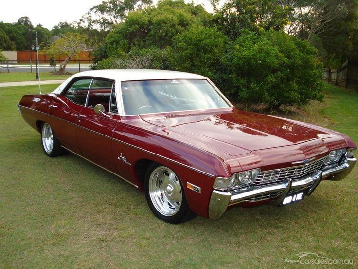 1968 Chevy Impalla Maintenance Restoration Of Old Vintage: 1968 Chevy Impala 4 Door Hardtop.