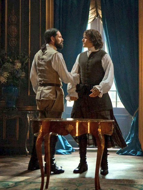 Murtagh & Jamie-Outlander Season 2 - Dragonfly In Amber.