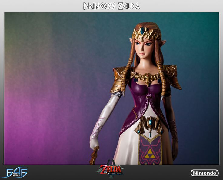 First 4 Figures Legend of Zelda Twilight Princess 1/4 Scale Statue #First4Figures