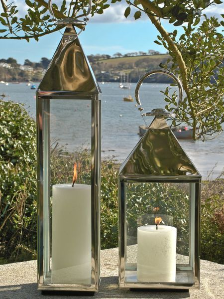 Big Stainless Steel Lantern Xl Stainless Steel Home And