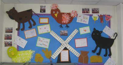 Little Red Hen Display, classroom display, class display, Story, Hen,flour, little red hen,reading, book, Early Years (EYFS), KS1 & KS2 Primary Resources