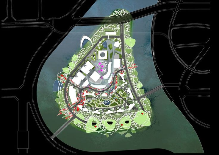 Hexindao - Landscape Architecture - Optimised Environments