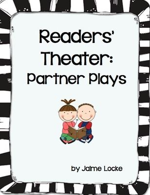 Readers Theater: Partner Plays from The First Grade Bloom on TeachersNotebook.com (55 pages)