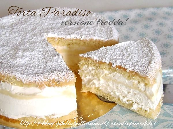 Cake Heaven version Cold - Torta Paradiso versione Fredda