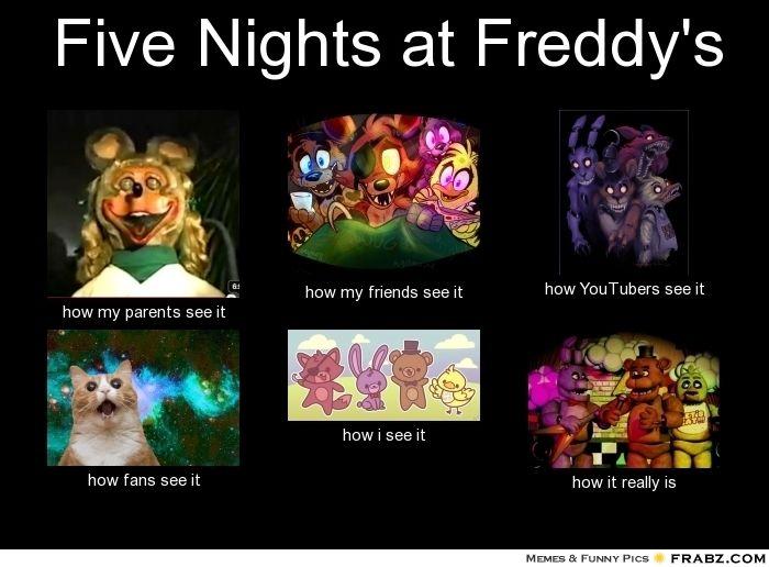 fnaf meme friendships enemies - photo #5