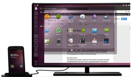 Mark ShuttleWorth anounces Ubuntu for Android
