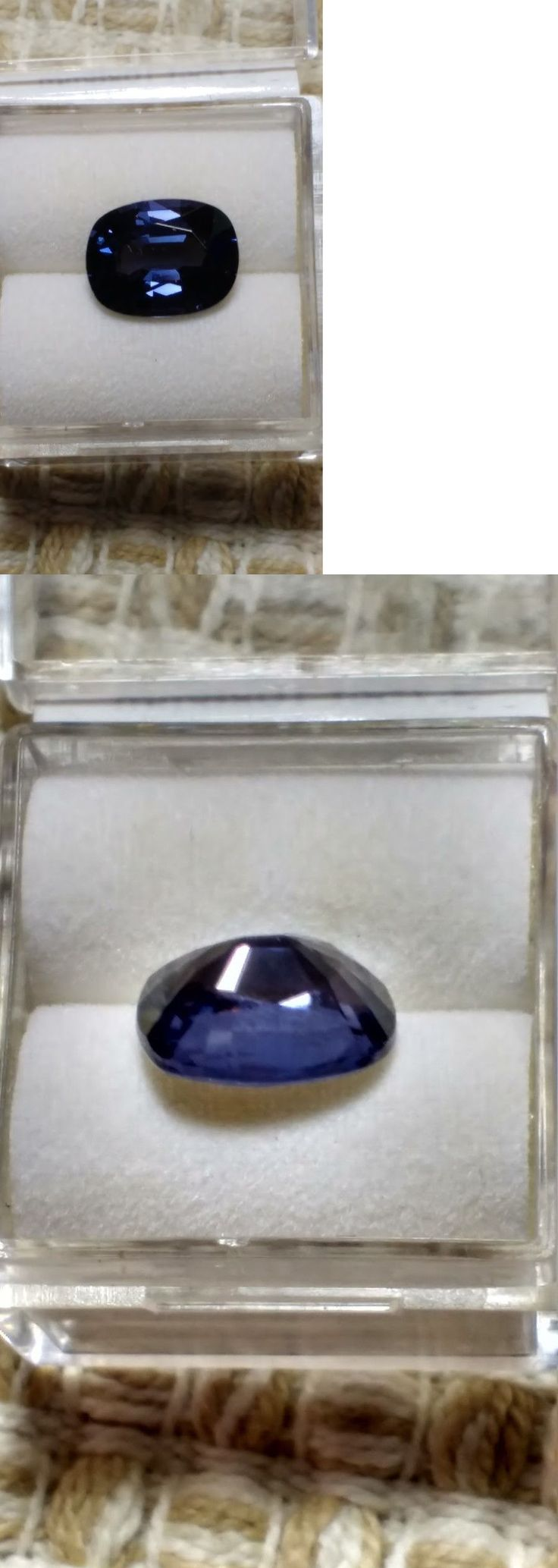 Tourmaline 10278: 3.75Ct Natural Purple Blue Spinel Cushion - Color Changer!! -> BUY IT NOW ONLY: $280 on eBay!
