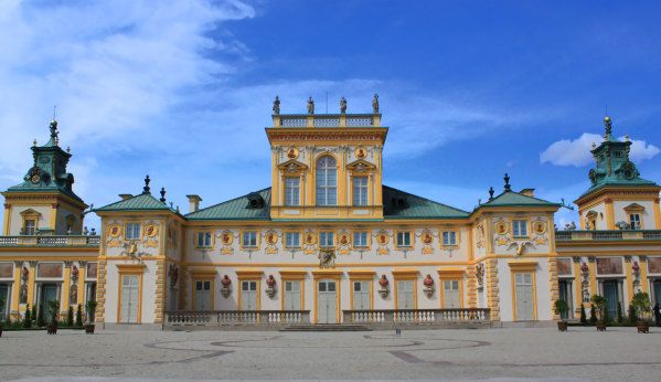 Wilanow palace in Poland  From Apgmbc