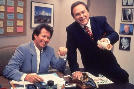 In The Larry Sanders Show Larry Garry and the Audience Made a Comic Love Triangle