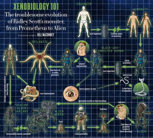 1000 images about aliens and other things on pinterest for Prometheus xenomorph mural