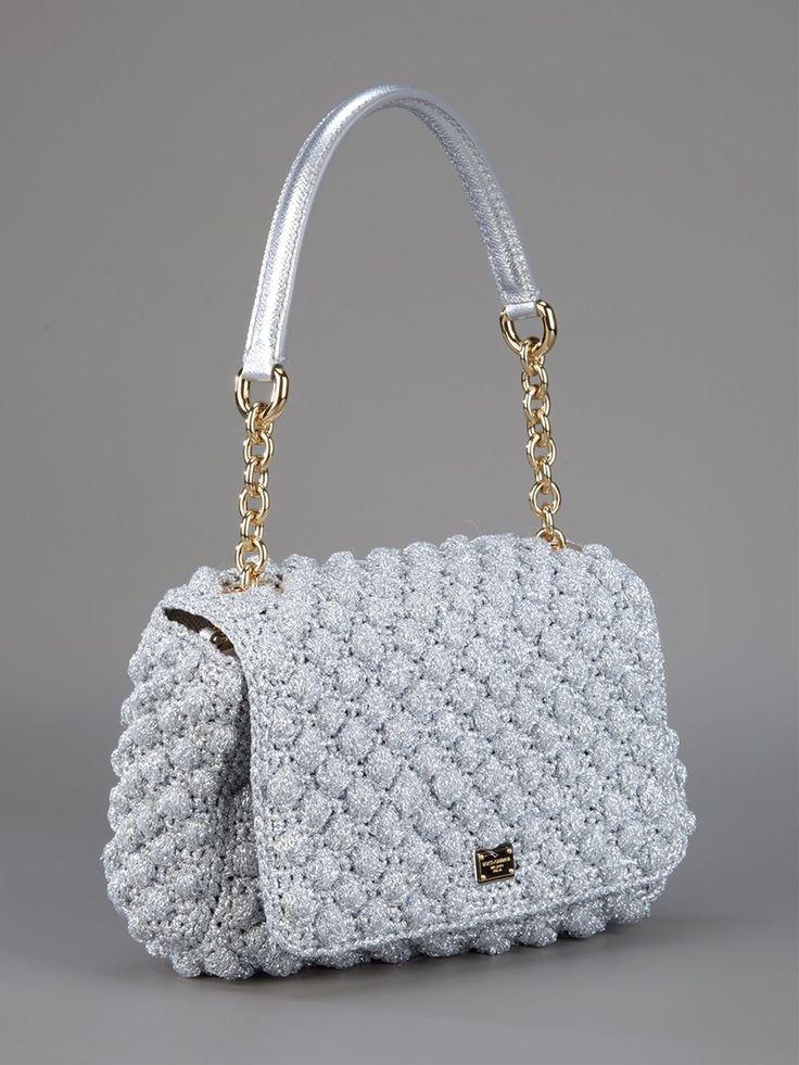 Dolce & Gabbana Metallic Shoulder Bag - - Farfetch.com