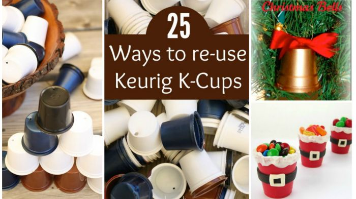 Creative Ways To Re-Use Your Keurig K-Cups