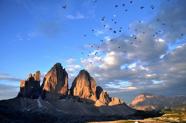 Tre Cime di Lavaredo sunrise - © Photo by Aurora Picco