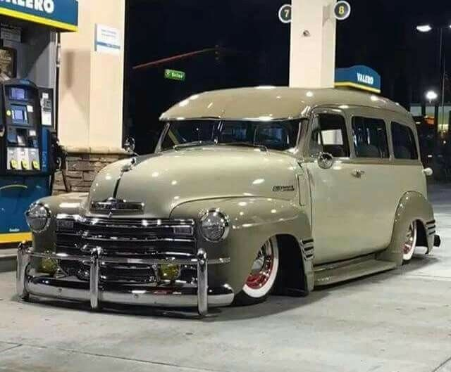 Old school all the way, and love the front grill and bumper...