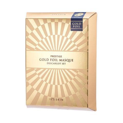 [It's Skin] PRESTIGE Gold Foil Masque D'escargot (5 EA)