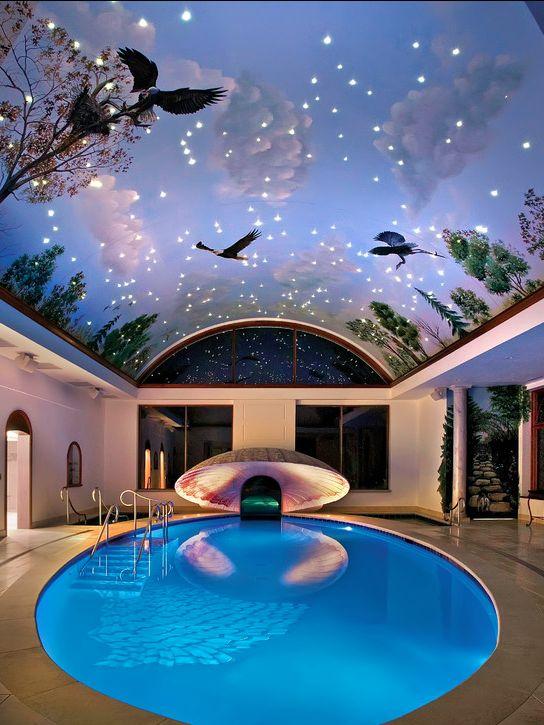 Indoor swimming pool luxus  Die 101 besten Bilder zu Indoor Swimming Pools auf Pinterest ...