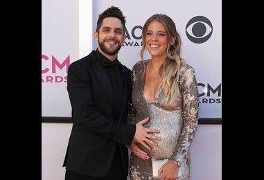 Thomas Rhett is a new dad