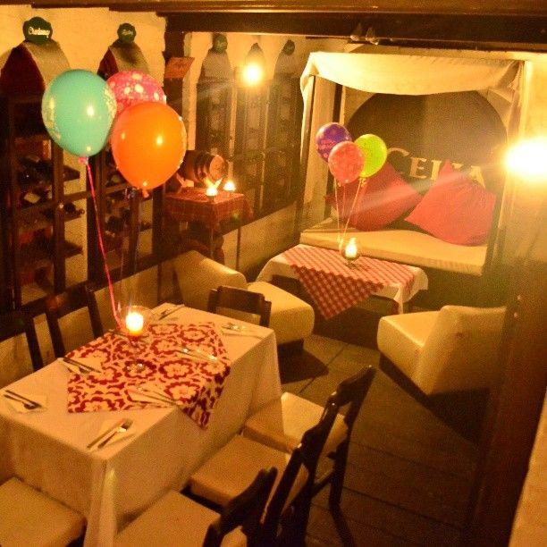 Cena Romántica o Cumpleaños ???? Que dicen???