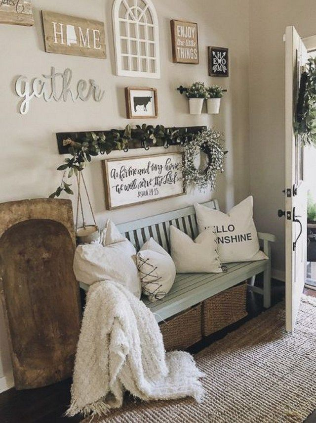 Farmhouse Style Decoration Ideas