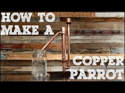Copper Proofing Parrot Parts Assembly – Copper Moonshine Still Kits - Clawhammer Supply