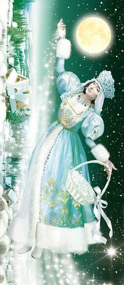 Winter. Tatiana Doronina Art, Russia