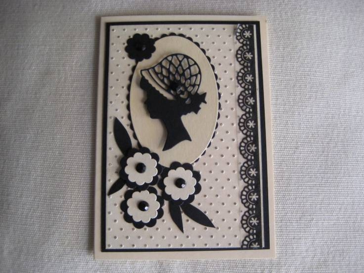 CASPhotos, Crafts Ideas, Cards Ideas, De Proyectos, Flappers Cameo, Creatables Die, Female Cards, Marianne Creatables
