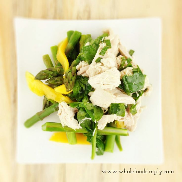 Coconut Chicken and Mango Salad