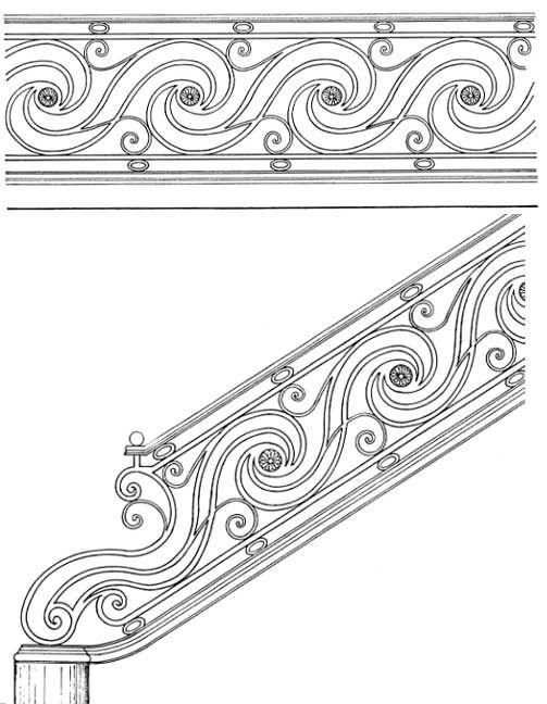 Stair Railing Designs ISR036