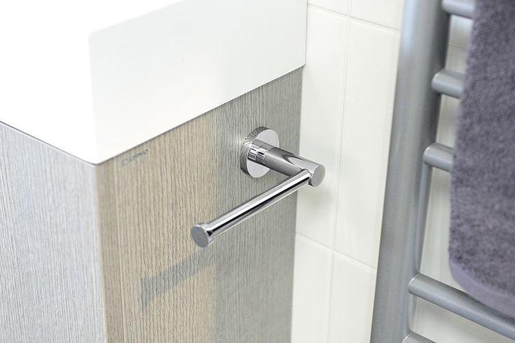 CIRCLE držák toaletního papíru na bok skříňky, chrom, SAPHO E-shop