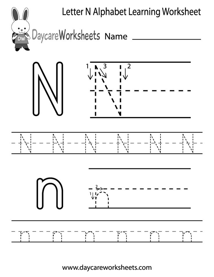 letter n alphabet activities at enchantedlearning letter n worksheets for kindergarten letter n worksheets 503