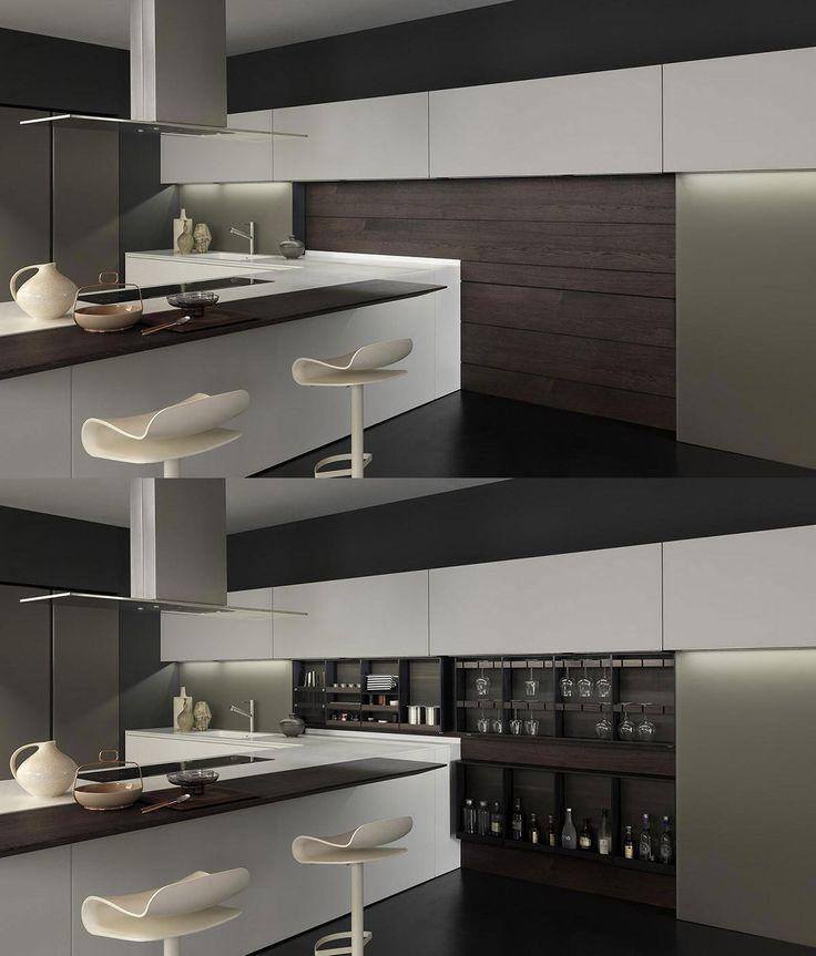 LIGHT kitchen #fullofsurprises #hiddenstorage #thedesignkitchen