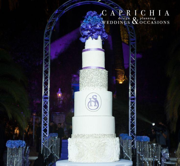 #Tarta de boda. ----- Wedding #Cake   Goyo #Catering (2014) Foto: @mireiagc Wedding Planner: @caprichia #boda #wedding