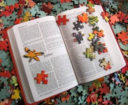 There is a manual to explain the puzzle pieces of life - His Word - lorigreenhill.com
