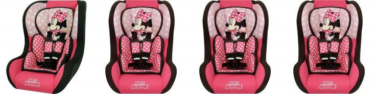 Cadeira Para auto 0 a 25 Kg Disney Trio SP Rosa Minnie